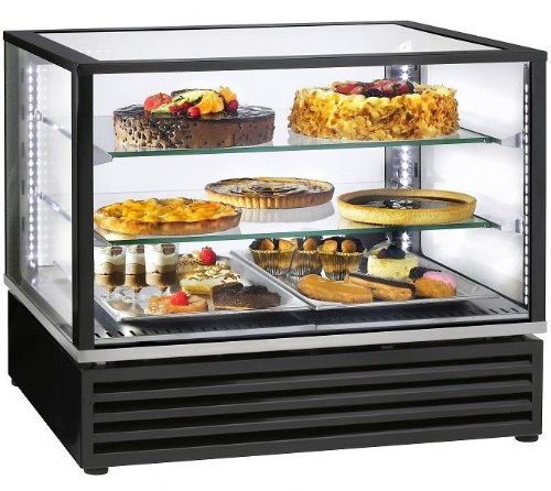 Roller Grill CD800 Black Finish Horizontal refrigerated display Refrigerated Displays